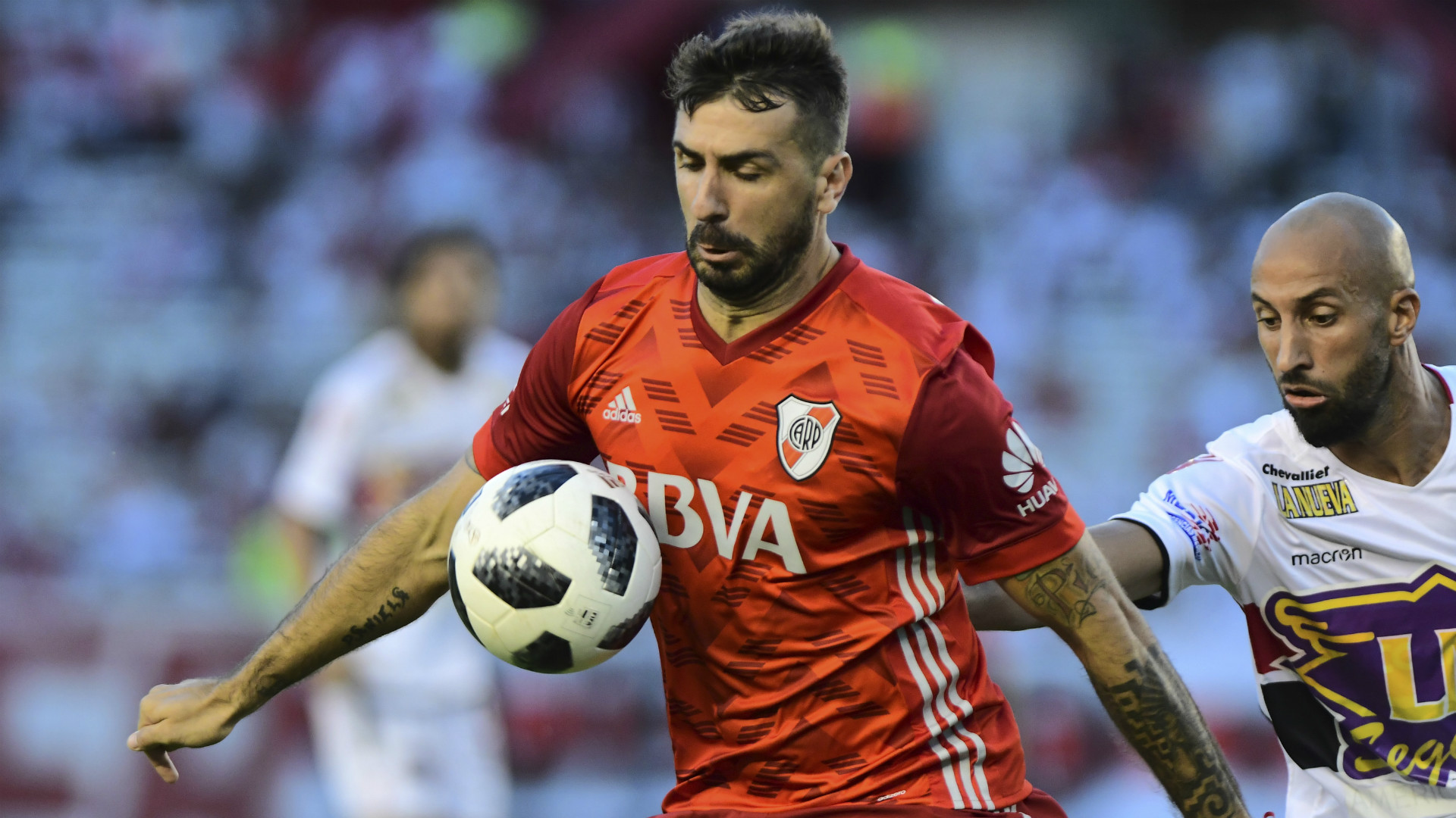 Lucas Pratto River Plate Chacarita Superliga Argentina 04032018