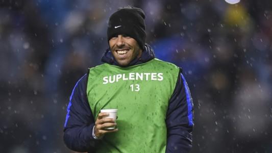 Carlos Tevez Boca Libertad Partido de ida octavos de final Copa Libertadores 2018