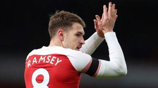 Aaron Ramsey Arsenal 2018