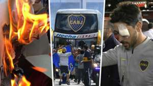 Boca Juniors River Plate Bus Attack