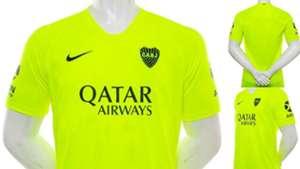 Boca Tercera Camiseta Amarilla