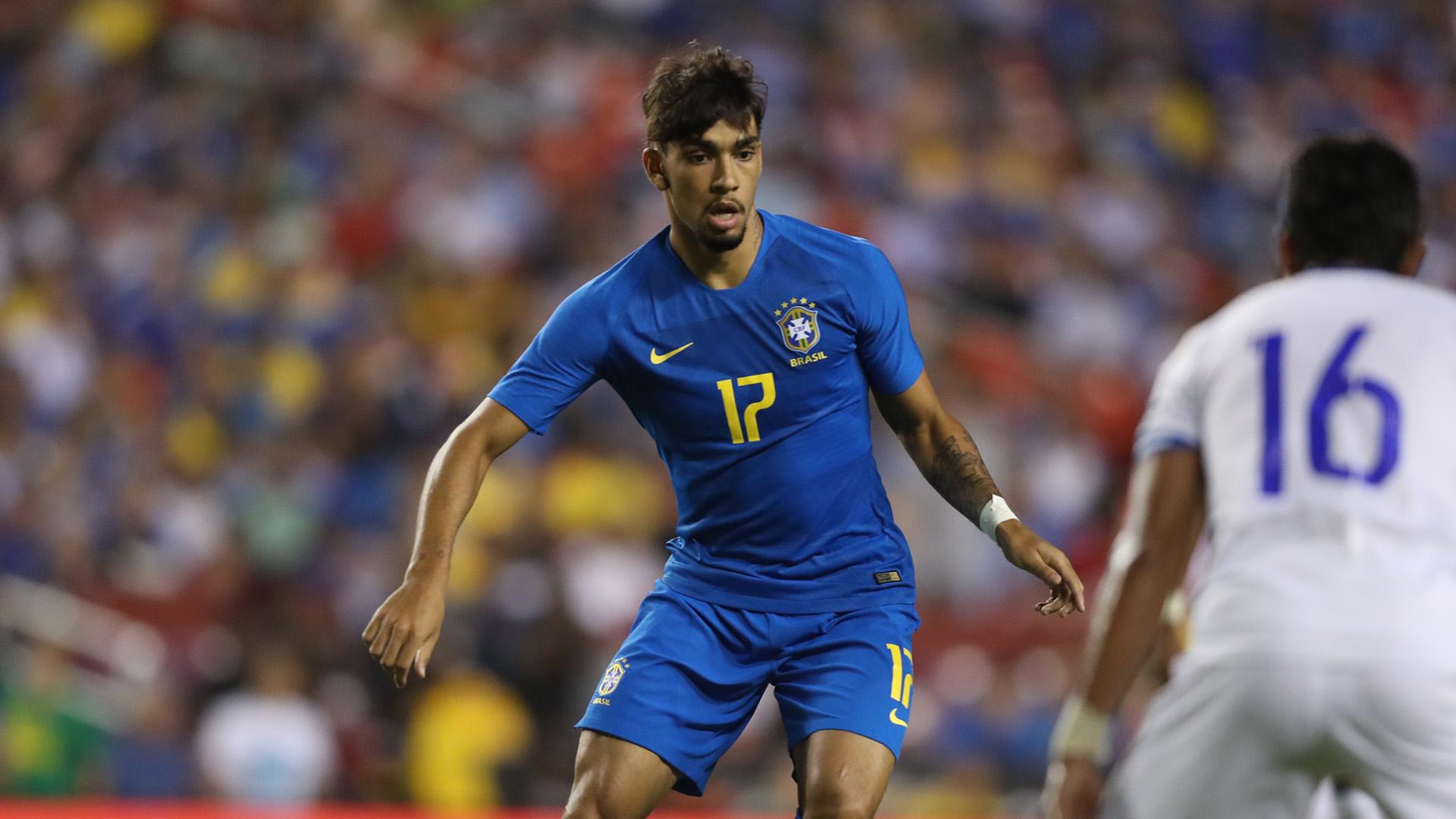 Lucas Paqueta Brazil El Salvador Friendly 11092018