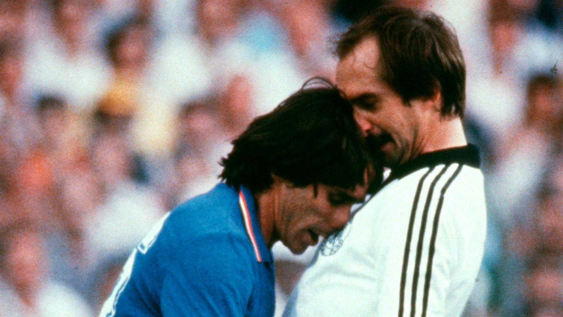 Conti Stielike Italy Germany 1982