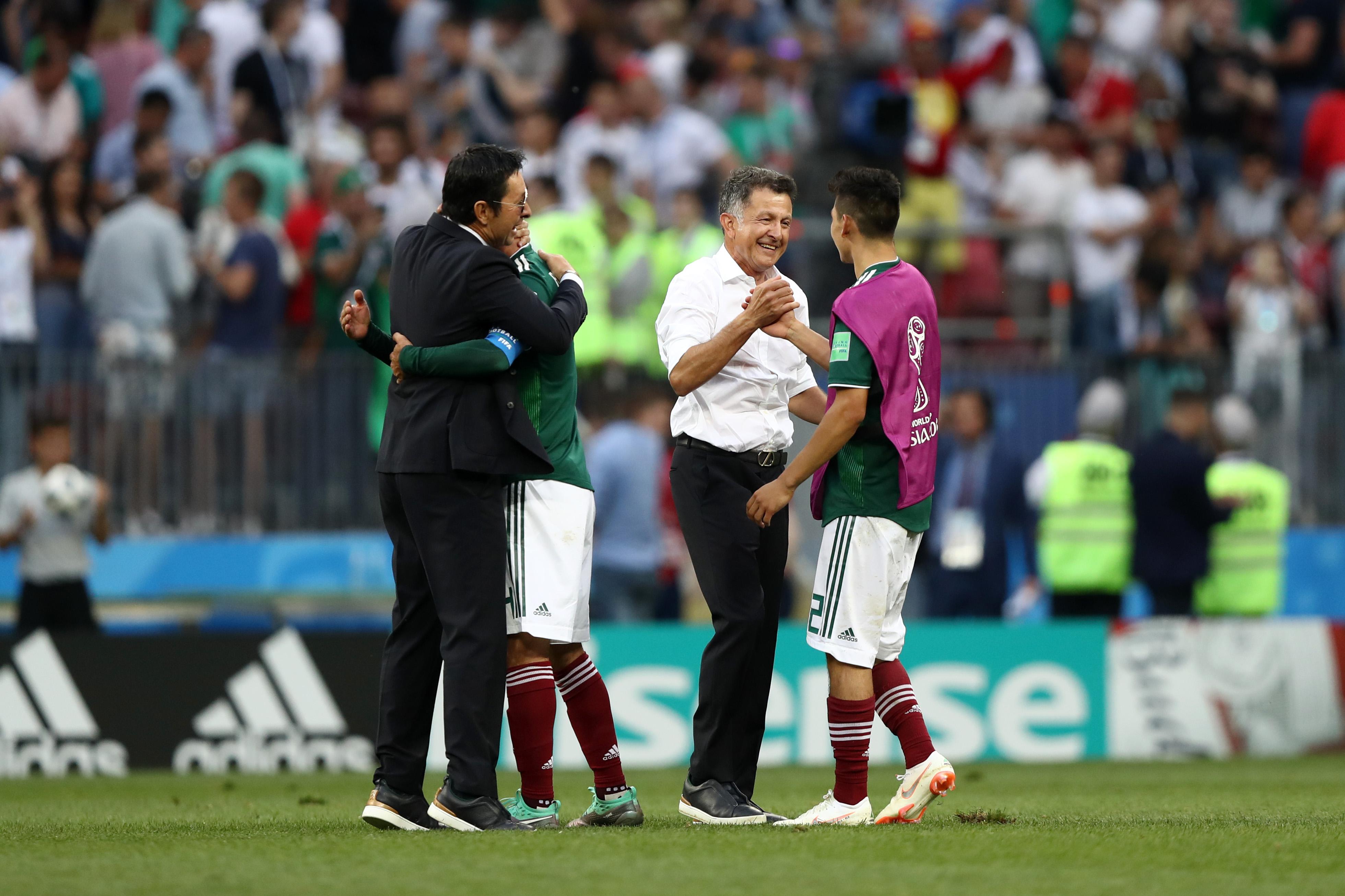 Hirving Lozano y Juan Carlos Osorio México 2018