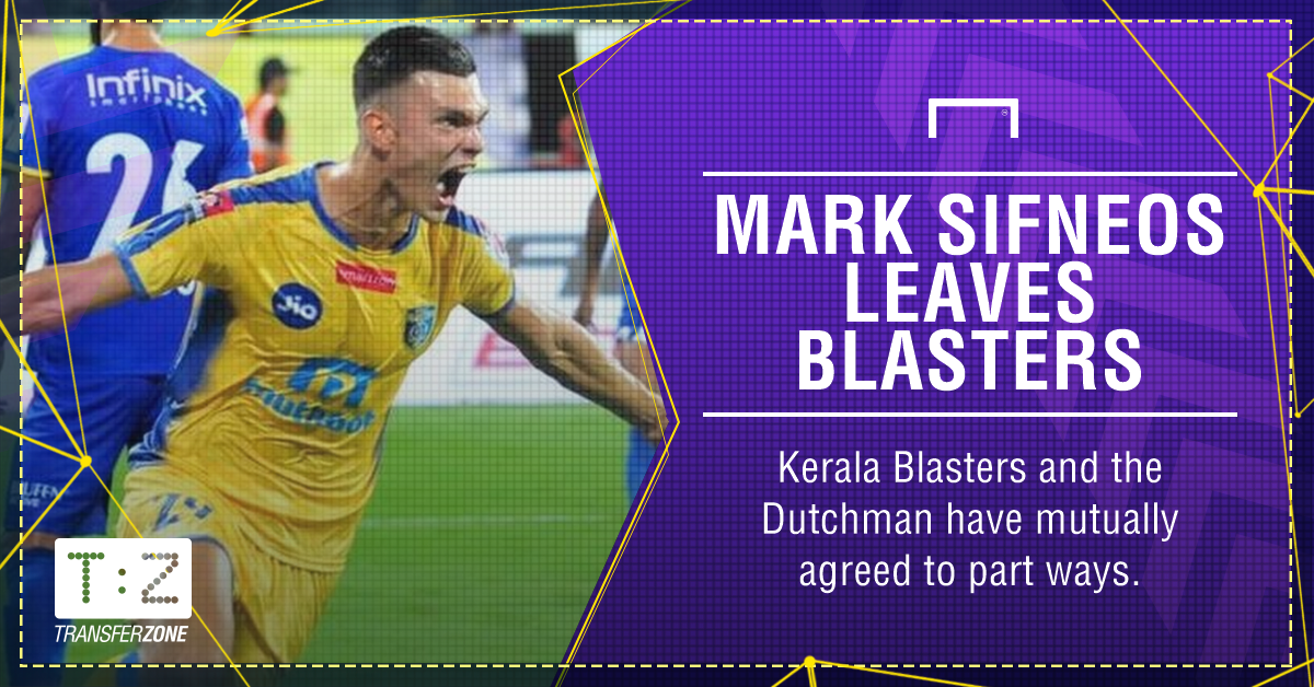 Mark Sifneos leaves Kerala Blasters; More in queue
