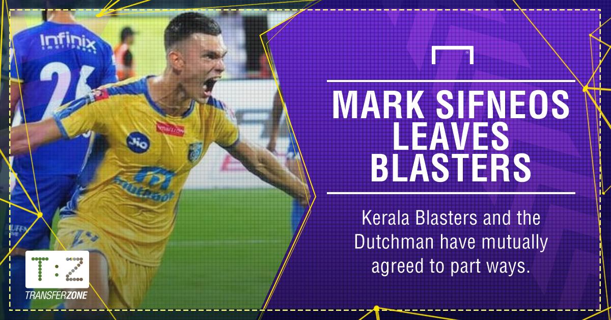 Mark Sifneos Kerala Blasters