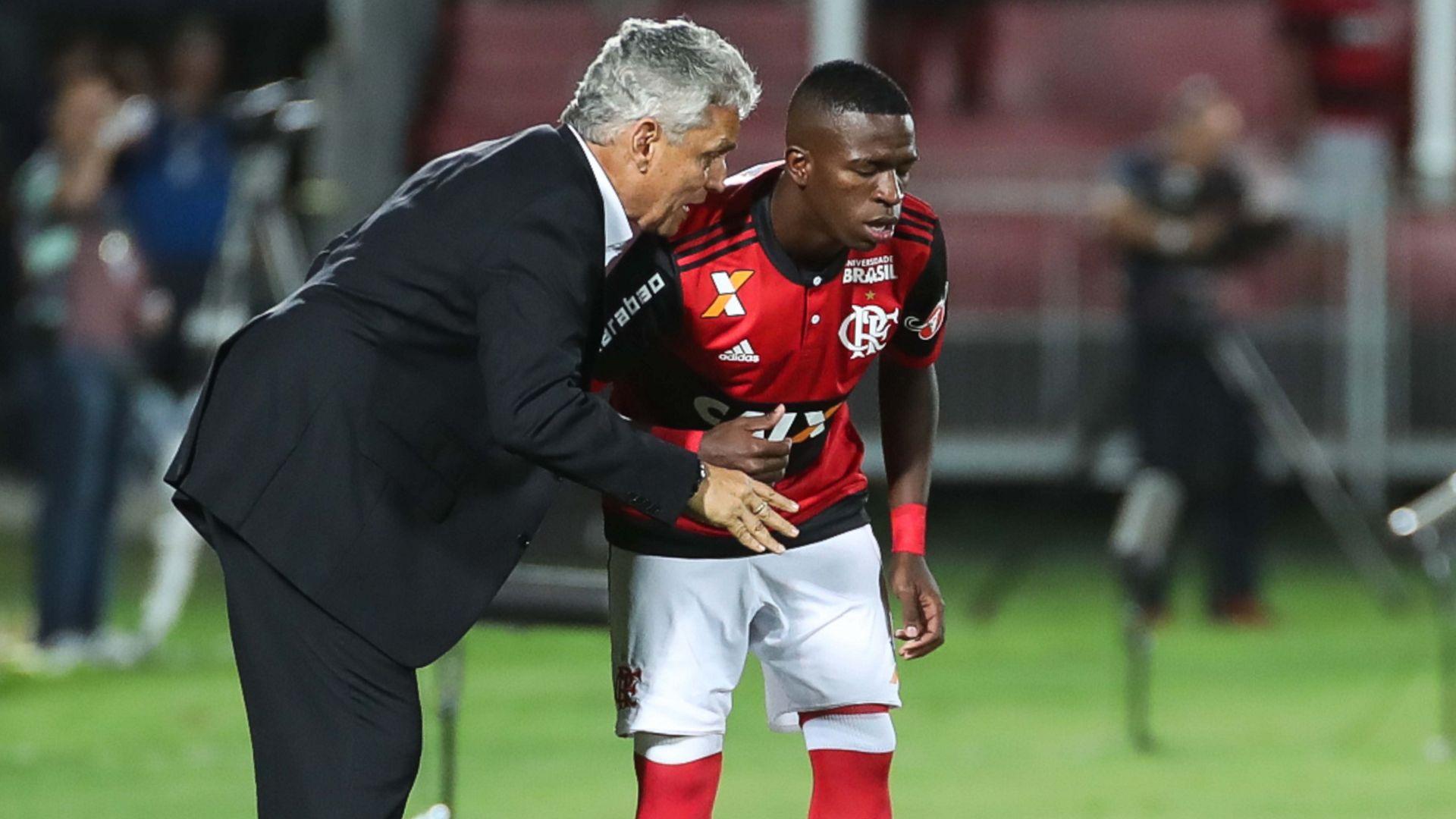 Reinaldo Rueda Vinicius Junior Flamengo Cruzeiro Brasileirao Serie A 08112017