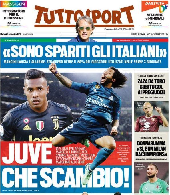 Marcelo Juventus, clamoroso: idea scambio con Alex Sandro?