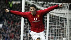 Ruud van Nistelrooy Manchester United Premier League