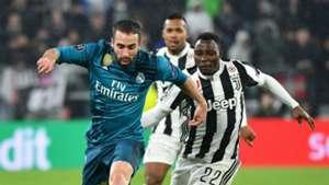 Daniel Carvajal, Kwadwo Asamoah, Juventus, Real Madrid, UEFA Champions League, 03042018