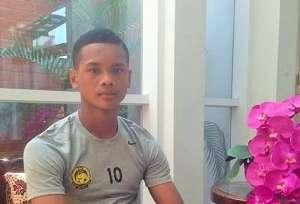 Amirul Ashrafiq Hanifah, Malaysia U-16, 2018