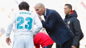Mateo Kovacic Zinedine Zidane Real Madrid LaLiga Barcelona Clasico 1217