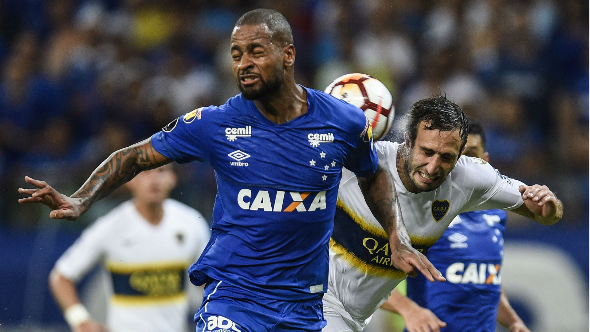 Dedé Cruzeiro Boca Libertadores 04 10 2018