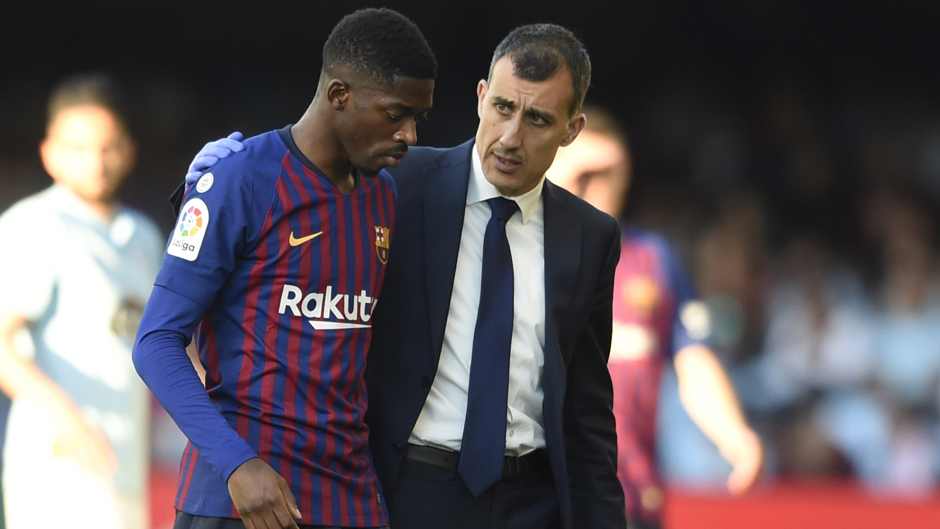 Dembele Doubt for Liverpool after Barca Confirm Hamstring Injury