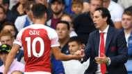 Mesut Ozil Unai Emery Arsenal