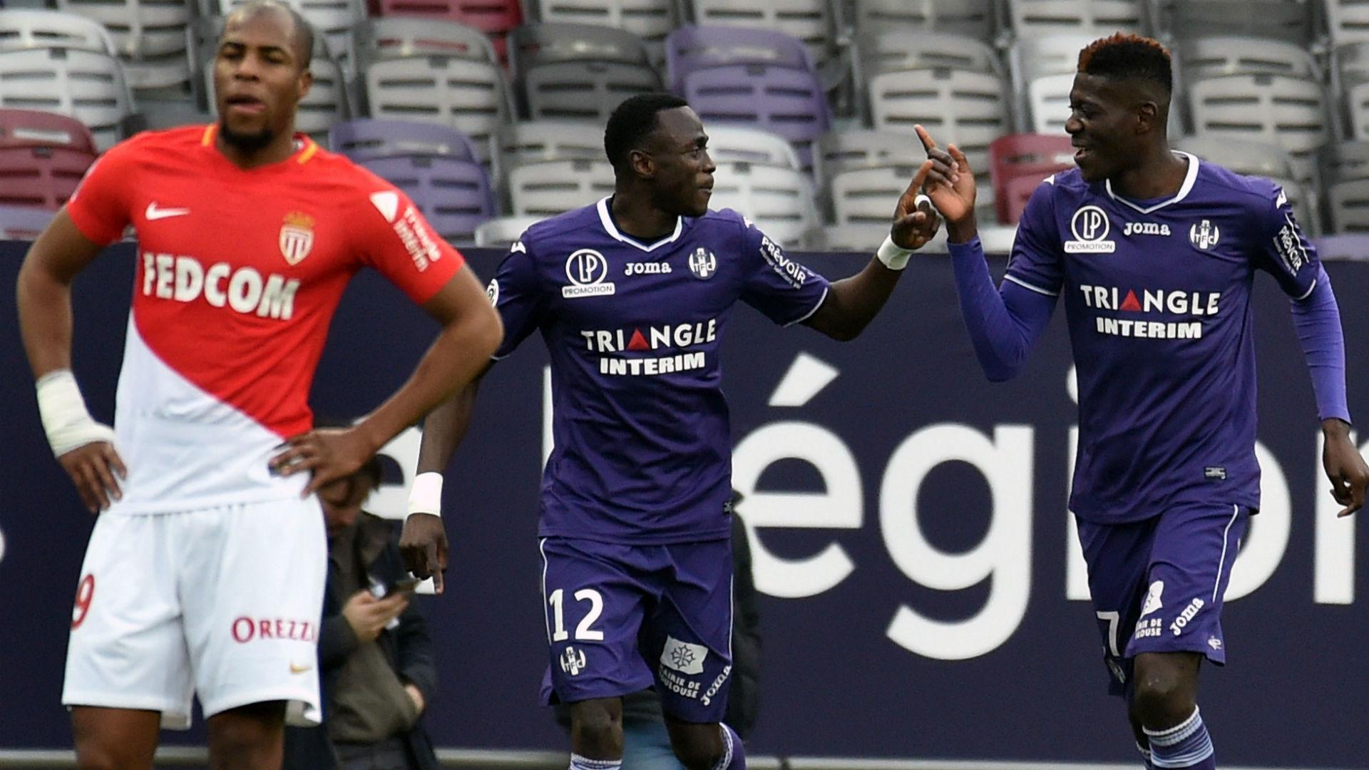 Ibrahim Sangare Toulouse Monaco Ligue 1 24022018