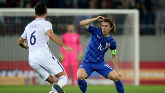 Greece Croatia Modric WC qualification 12112017
