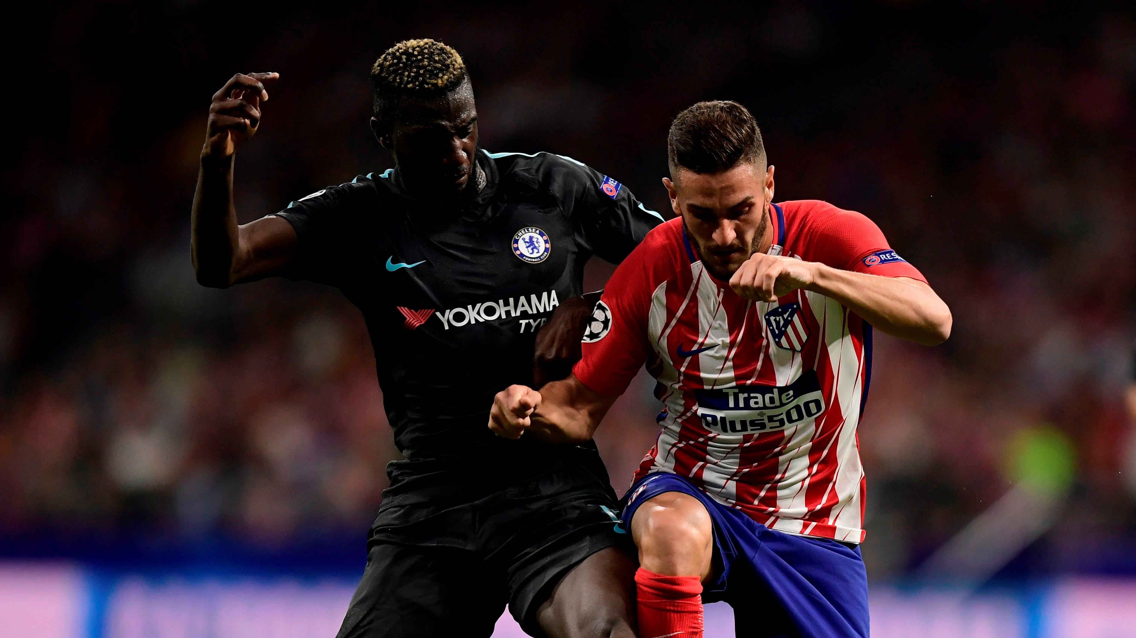 Koke Tiemoue Bakayoko Atletico de Madrid Chelsea UCL 27092017