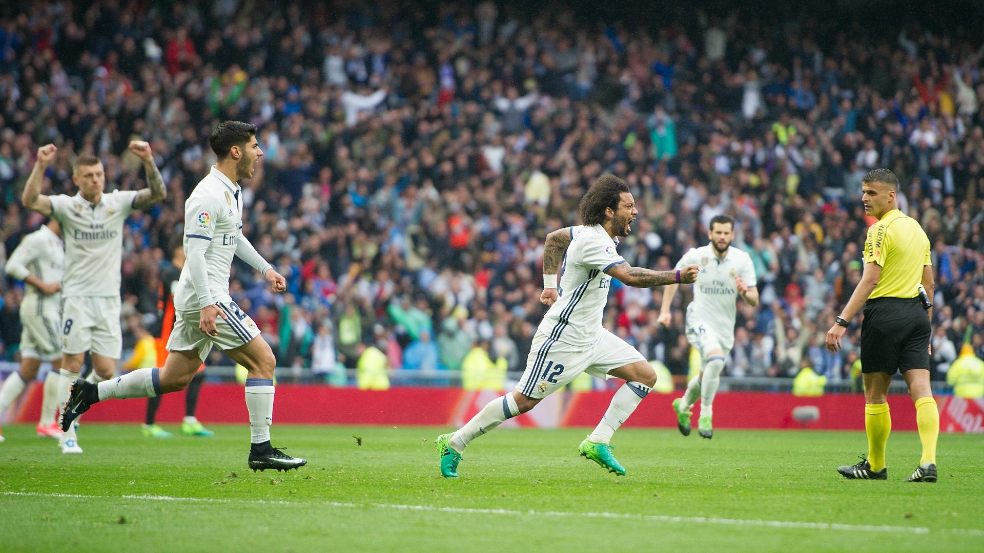 Marcelo Real Madrid Valencia LaLiga 29042017