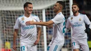 Lucas Vazquez Dani Ceballos Real Madrid Numancia Copa del Rey 10012018