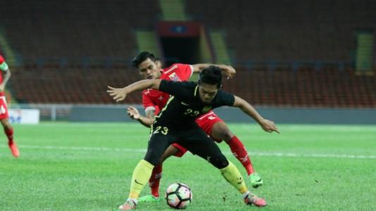 Ariff Farhan, Malaysia U22, 13/07/2017