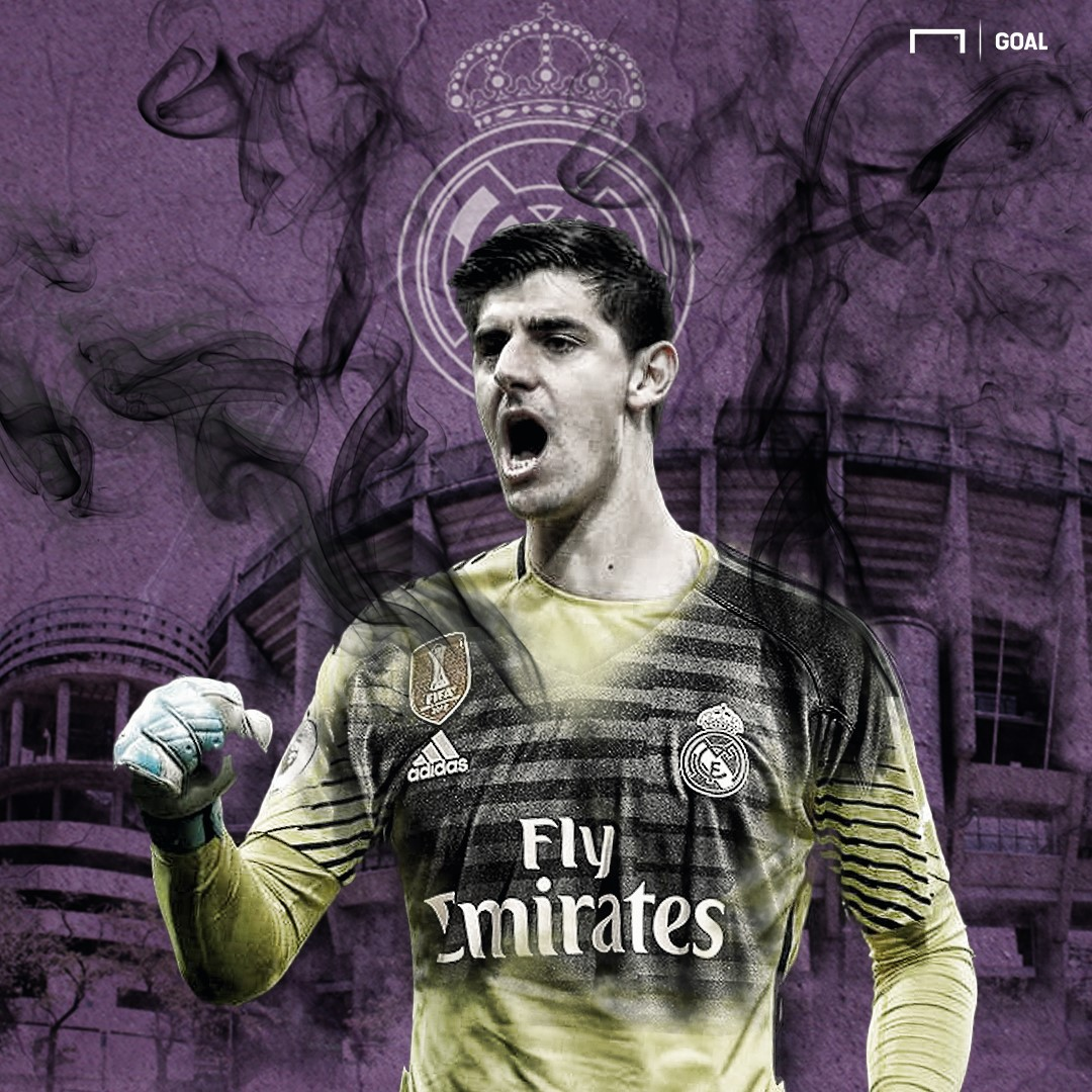 Thibaut Courtois Real Madrid embed