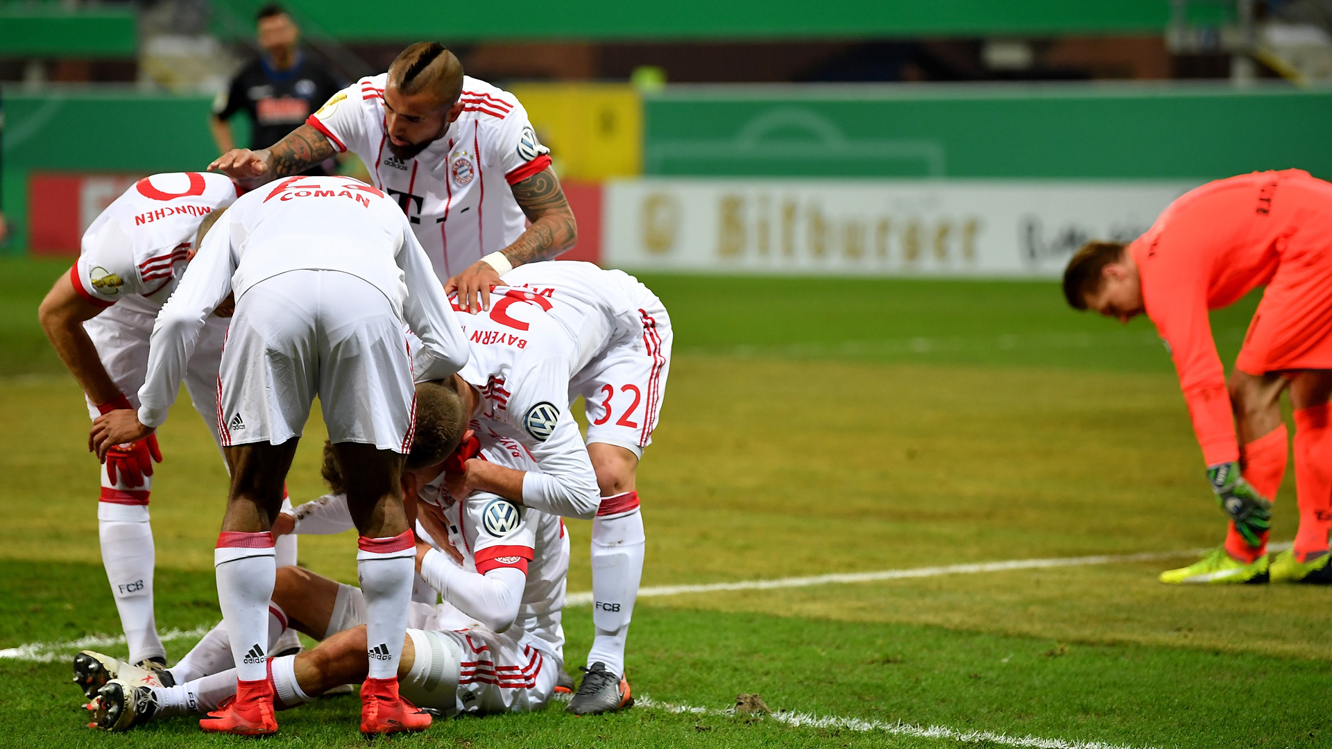 SC Paderborn FC Bayern DFB Pokal
