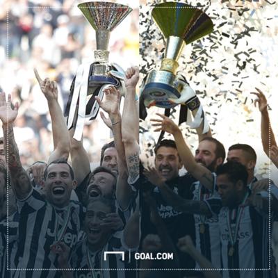 Juventus 2014 vs Juventus 2017