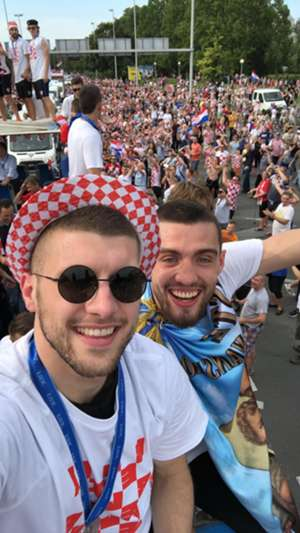 ante rebic mateo kovacic croatia celebration parade 16072018