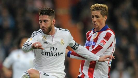 Sergio Ramos Fernando Torres Real Madrid Atletico Madrid