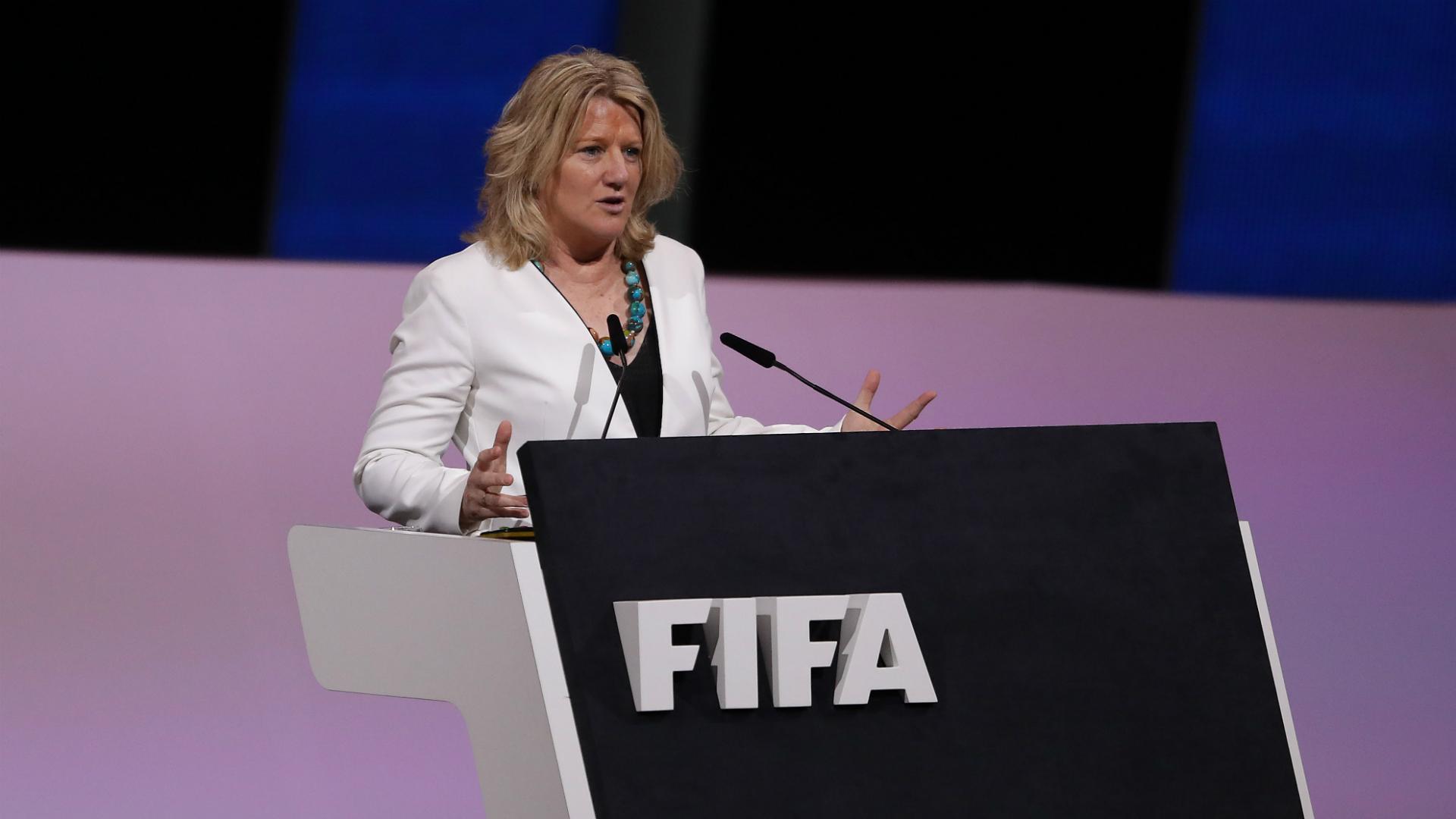 Brigitte Henriques FIFA congress