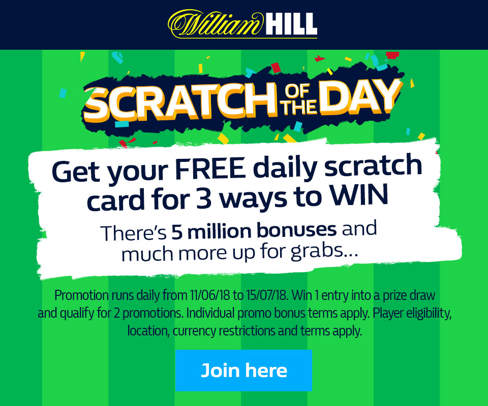 Scratch of the Day from William Hill