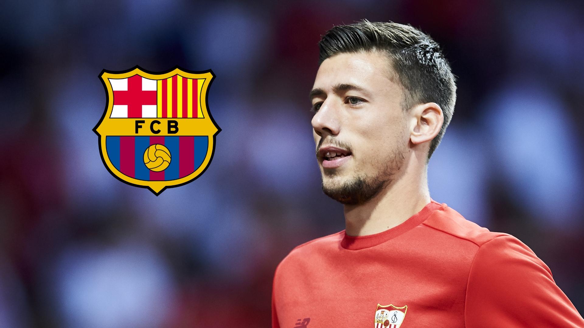 Barcelona Transfer News Barcelona Sign Em Lenglet From Sevilla Goal Com