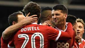 Eric Lichaj Kieran Dowell Nottingham Forest Arsenal