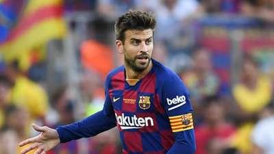 Gerard Pique Barcelona 2019-20