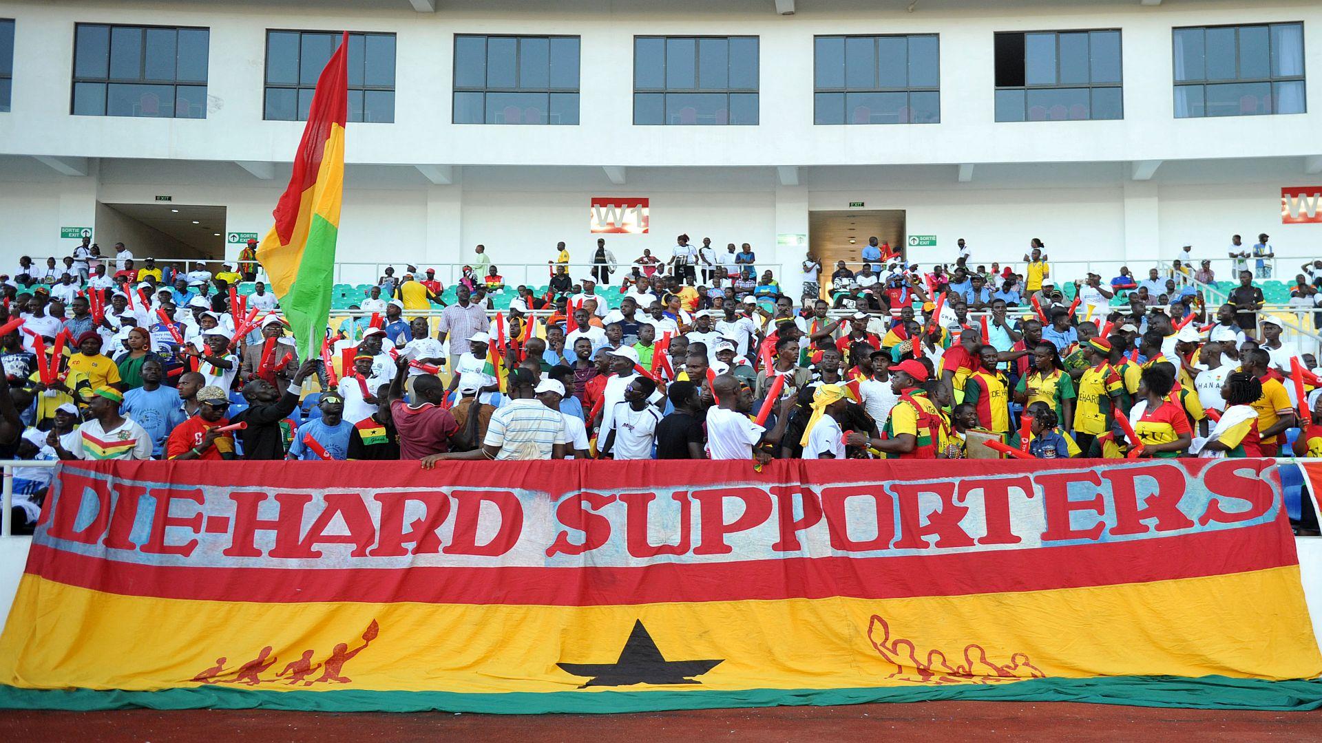 Ghana Die Hard supporters
