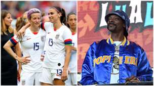 Rapinoe/Morgan/Snopp Dogg