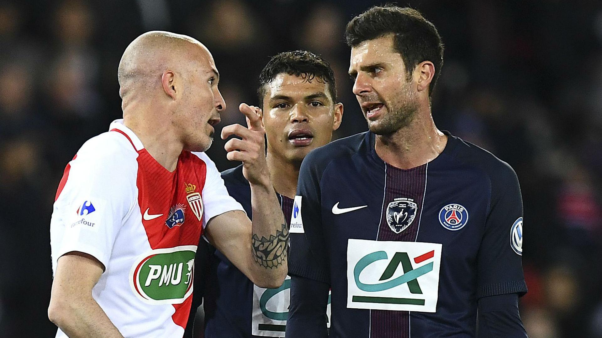 Thiago Motta PSG Monaco Coupe de France 26042017