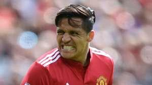 Alexis Sanchez Manchester United 2017-18