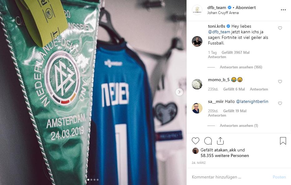 Kroos DFB Instagram