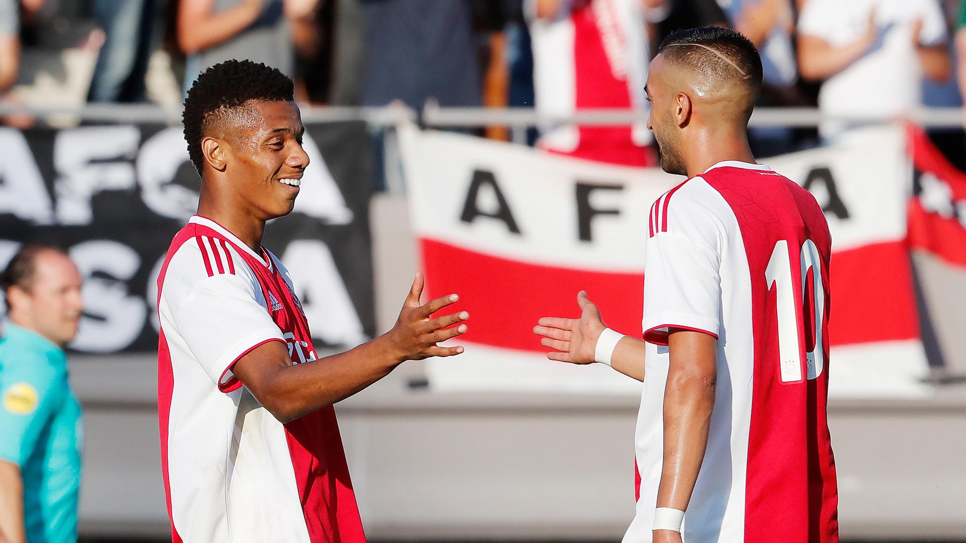 David Neres Hakim Ziyech Ajax Amsterdam