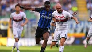 Yann Karamoh Francesco Migliore Inter Genoa