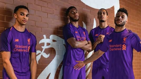 Liverpool away kit 2018-19