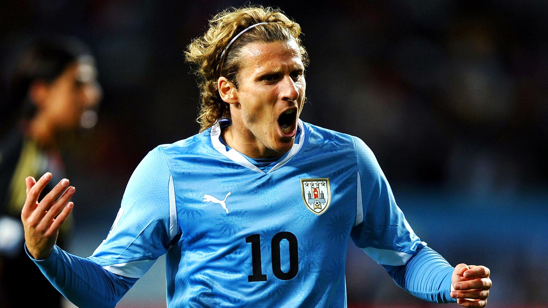 Diego Forlan Urugay World Cup 2010