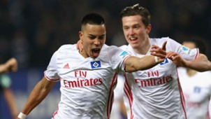 Bobby Wood Michael Gregoritsch Hamburg Bundesliga 031317