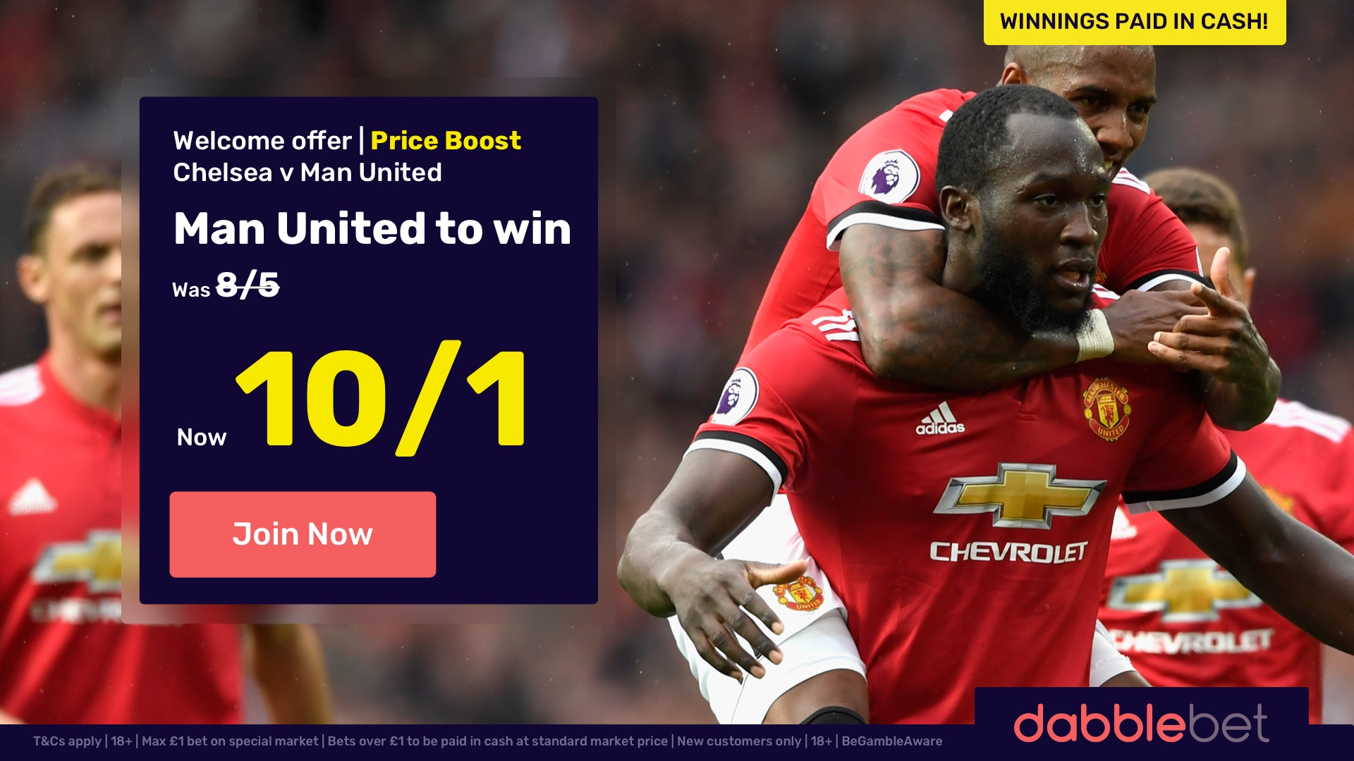 FA Cup Betting Tips: Huge boost on Manchester United to beat Chelsea at Wembley