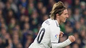 Luka Modric Betis Real Madrid LaLiga 13012019