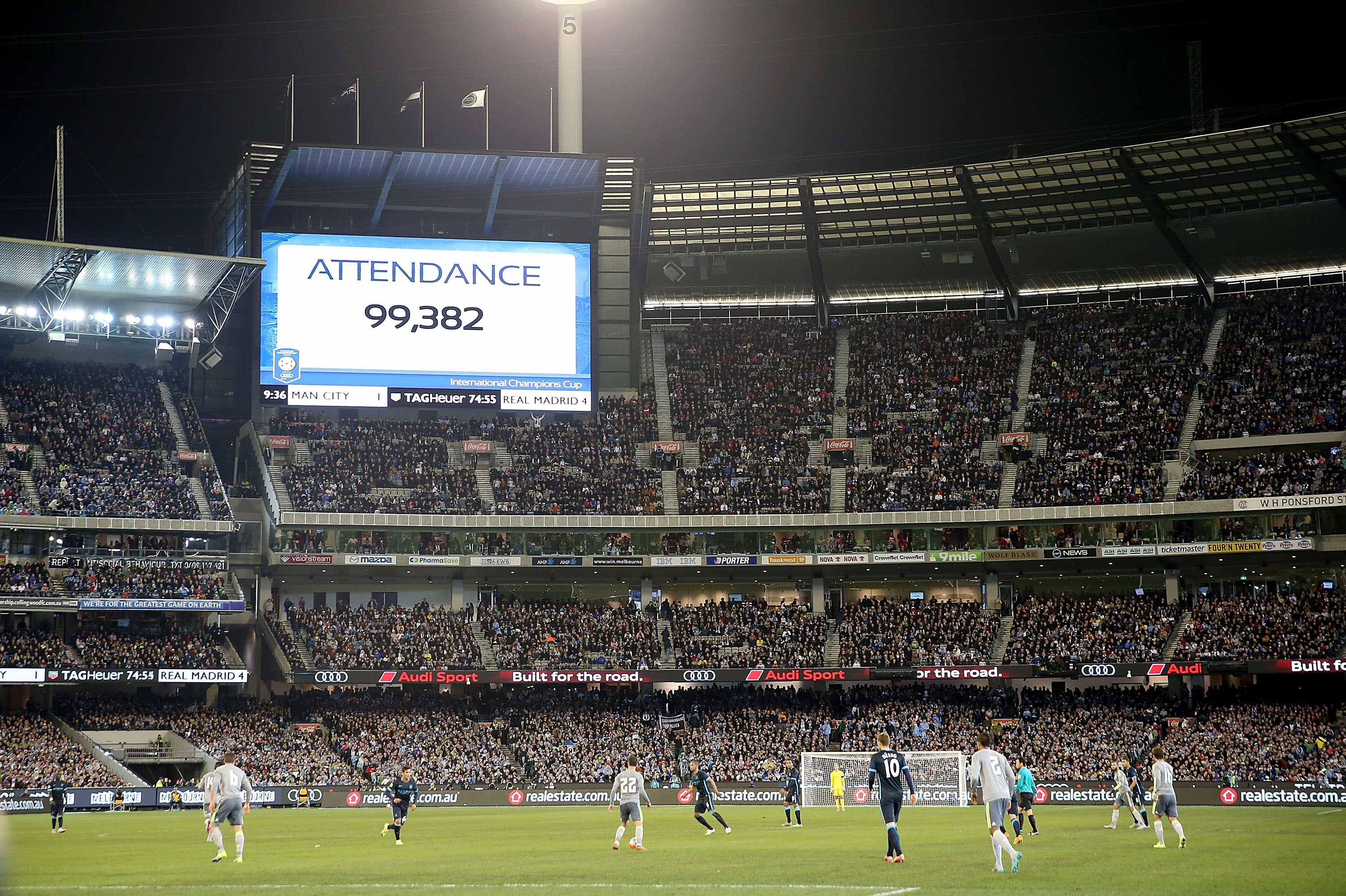 MCG Real Madrid Manchester City 24072015