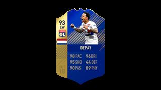 FIFA 18 Ligue 1 Team of the Season Depay
