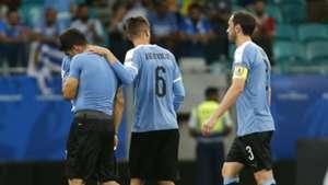 Rodrigo Bentancur Luis Suarez Uruguay Copa America 2019